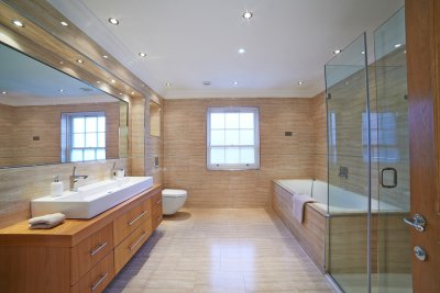 Overhead - bathroom - lighting